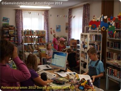 Ferienprogramm 2012 Dosen gestalten mit Filz_42