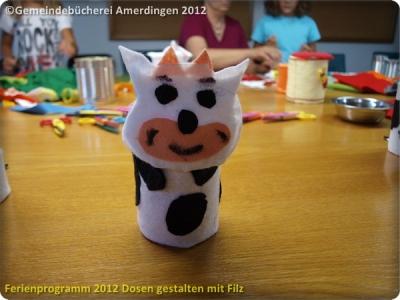 Ferienprogramm 2012 Dosen gestalten mit Filz_57