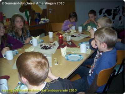 Lesung Weihnachtsfeier Gartenbauverein Amerdingen Bollstadt 2011_2